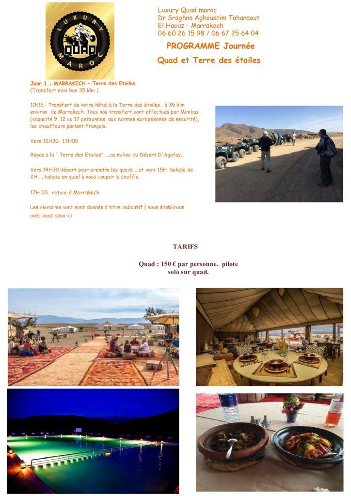 thumbnail of Programme Journée et repas Terre des Etoiles